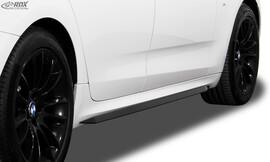 BMW 5er F07 GT 09-16 Накладки на пороги Slim