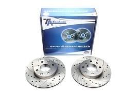 Honda Civic/CRX/Integra Комплект спортивных тормозных дисков