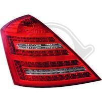 Mercedes W221 05-11 Фонари светодиодные, красно-белые