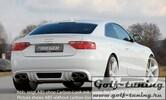 Audi A5 B8/B81 07-11 Купе/Кабрио Накладка на задний бампер/диффузор Carbon Look