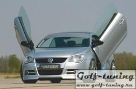 VW Eos 1F 06- Спойлер переднего бампера