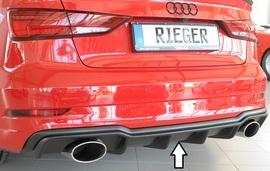 Audi A3/S3 8V Седан/Кабрио 16- Накладка на задний бампер/диффузор