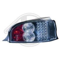 Citroen Saxo 96-02 Фонари светодиодные, черные