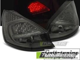 Ford Fiesta 08-12 Фонари светодиодные, тонированные
