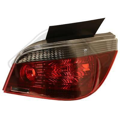 BMW E60 03-07 Седан Фонари красно-тонированные