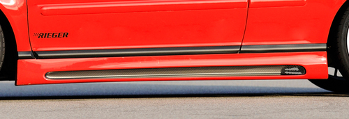 VW Golf 3/Seat Cordoba Накладки на пороги carbon look