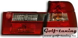 BMW E34 Универсал Фонари красно-белые