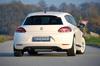VW Scirocco 3 08-14 Накладка на задний бампер/диффузор Carbon Look