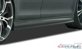 VW Touran 1T 03-10 Накладки на пороги Edition