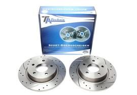 Mazda 3/Mazda 5 Комплект спортивных тормозных дисков