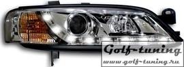 Opel Vectra B 99-02 Фары Devil eyes, Dayline хром