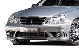 Mercedes W203 00- Передний бампер