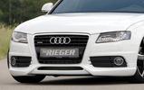 Audi A4/S4 B8 07-11 Накладка на передний бампер