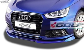 Audi A1 8X S-Line 15- Накладка на передний бампер Vario-X