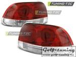 Honda CRX del Sol 92-97 Фонари красно-белые