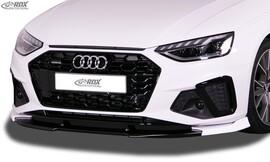 AUDI A4 8W B9 Facelift 2019- S-Line-/S4- Накладка на передний бампер VARIO-X