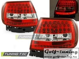 Audi A4 94-00 Фонари светодиодные, красно-белые