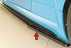 Audi TT/TTS/TT-RS (8J-FV/8S) S-Line 18- Накладки глянцевые на штатные пороги