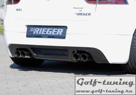 VW Golf 5 Выхлоп rieger 4x76mm Bull-X