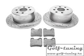 Opel Calibra/Vectra A Комплект спортивных тормозных дисков и колодок
