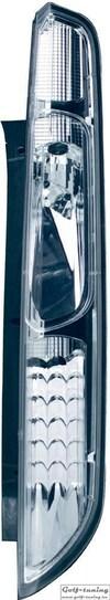 Ford Focus 04-08 Фонари светодиодные, хром