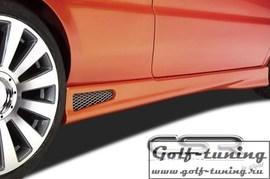 VW Golf 2/Jetta 2 Накладки на пороги X-Line design