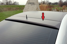 Mercedes W203 Седан Козырек на заднее стекло Carbon Look