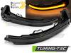 AUDI A4 15-18/A5 15-18 Светодиодные тонированные динамические бегающие поворотники в зеркало