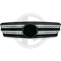 Mercedes W211 02-06 Решетка радиатора с хром полосками CL Look