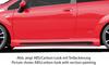 Fiat Grande Punto 05- Накладки на пороги Carbon Look