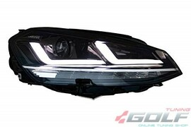 VW Golf 7 12-17 Фары LEDriving Xenarc upgrade halogen хром