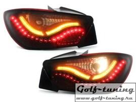 Seat Ibiza 6J 08- Фонари светодиодные, красно-тонированные