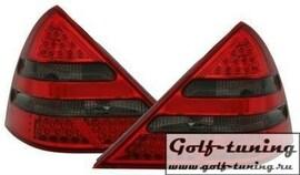 Mercedes R170 96-04 Фонари светодиодные, красно-тонированные