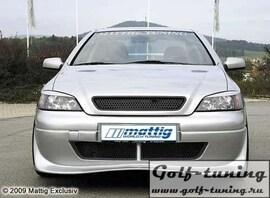 Opel Astra G Передний бампер Sport Look