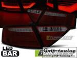 Audi A5 07-11 Купе Фонари светодиодные, красно-тонированные led bar design