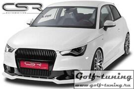 Audi A1 10- Накладка на передний бампер
