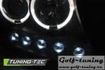 Toyota Land Cruiser FJ200 07-12 Фары angel eyes черные
