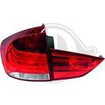 BMW X1 E84 09-12 Фонари светодиодные, lightbar design, красно-белые