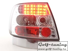 Audi A4 B5 95-00 Седан Фонари светодиодные, хром