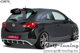 Opel Corsa E 14- Накладка на задний бампер