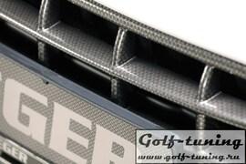 Решетка радиатора для переднего бампера Rieger 14102, 14103 Carbon Look