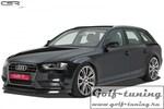 Audi A4 B8 11-15 Накладка на передний бампер cupspoilerlippe черная