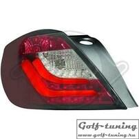 Opel Astra H GTC Фонари светодиодные, красно-белые Lighbar Design