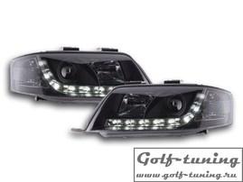 Audi A6 4B 97-01 Фары Devil eyes, Dayline черные