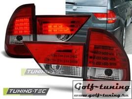 BMW X3 04-06 Фонари светодиодные, красно- белые