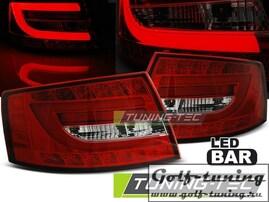 Audi A6 4F 04-08 Седан Фонари светодиодные, красно-белые lightbar