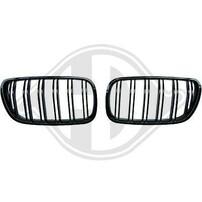 BMW X3 06-10 Решетки радиатора (ноздри) черные в стиле М