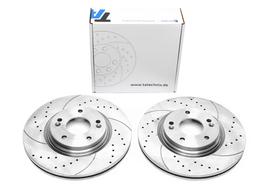 Hyundai / Kia 15- Спортивные тормозные диски передние