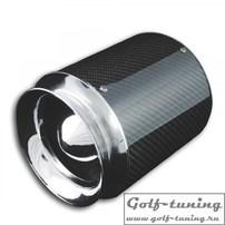 Фильтр нулевого сопротивления универсальный Power карбон/хром