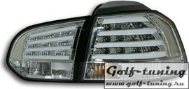 VW Golf 6 Фонари светодиодные, хром